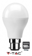 100W Equivalent LED  bulb lamp | B22 Bayonet | Warm White